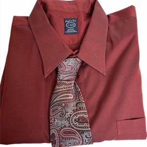 Mens Dress Shirt and Matching Tie 19 34/35